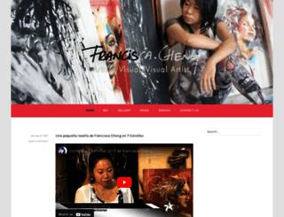 franciscacheng.com screenshot