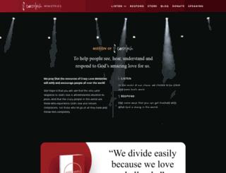 francischan.org screenshot
