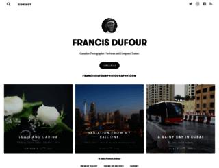 francisdufour.exposure.co screenshot