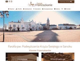 franciszkanie.esanok.pl screenshot