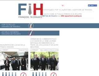 francois-tacravate.fr screenshot