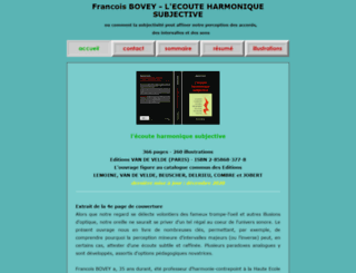 francoisbovey.com screenshot
