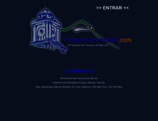 francomacorisanos.com screenshot