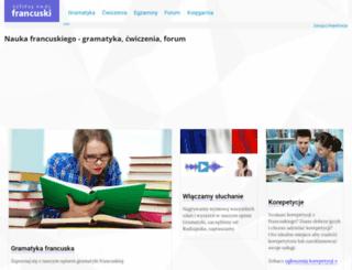 francuski.ang.pl screenshot