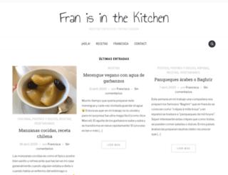 franisinthekitchen.com screenshot