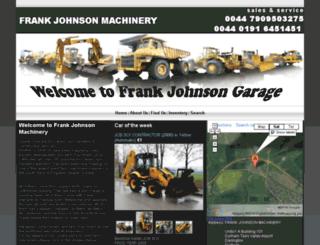 frank-johnson-machinery.com screenshot