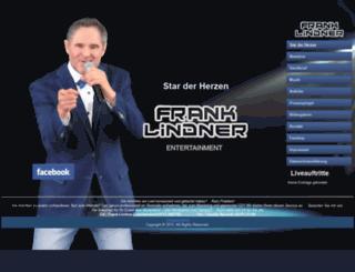 frank-lindner.com screenshot