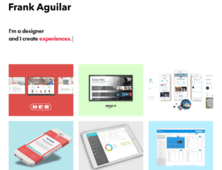 frankaguilar.com screenshot