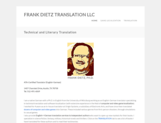 frankdietz.com screenshot
