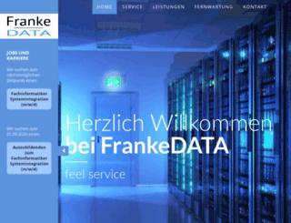 frankedata.net screenshot