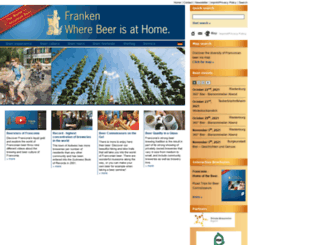 franken-bierland.de screenshot