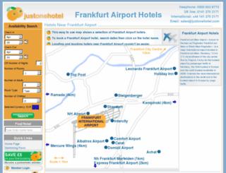 frankfurt-airporthotels.com screenshot