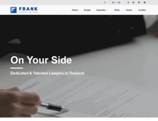 franklegaltax.com screenshot