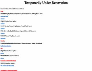 franklin.com screenshot