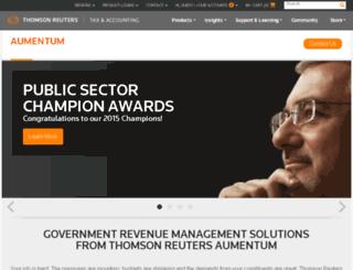 franklin.governmaxa.com screenshot