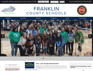 franklin.k12.ky.us screenshot