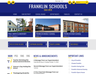 franklin.k12.nh.us screenshot