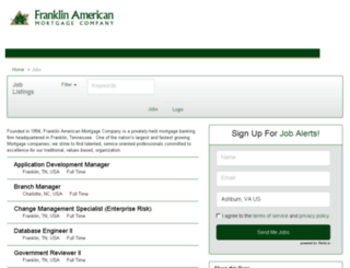 franklinamerican.prevueaps.com screenshot