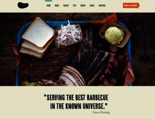 franklinbarbecue.com screenshot