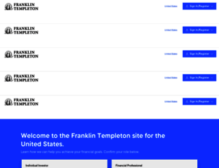 franklintempleton.com screenshot