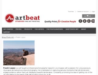 franklopez.artbeatstudios.com screenshot