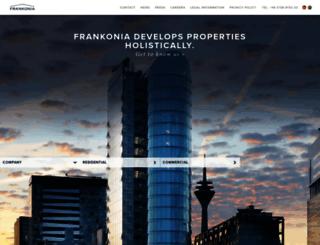 frankoniaeurobau.de screenshot