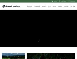 frankpmatthews.com screenshot