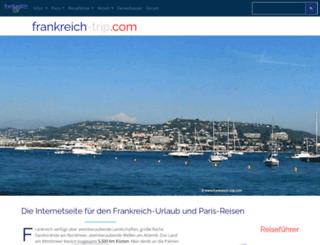 frankreich-trip.com screenshot