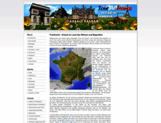 frankreich-urlaub-info.de screenshot