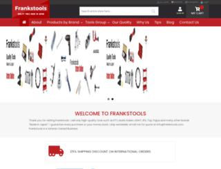 frankstools.com screenshot