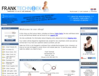 franktechniek.com screenshot