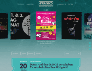 frannz.de screenshot