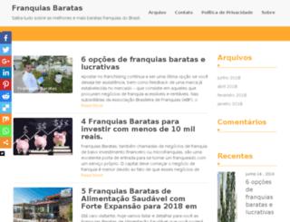 franquiasbaratas.blog.br screenshot