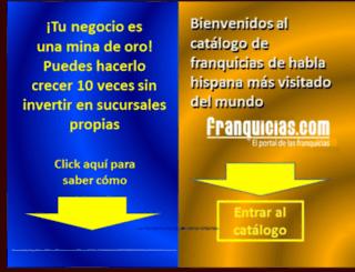 franquicias.com screenshot