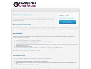 franquiciasdigitales.com screenshot