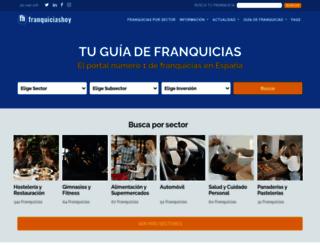 franquiciashoy.es screenshot