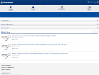 fransabank.com screenshot
