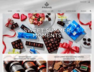 franschocolates.com screenshot