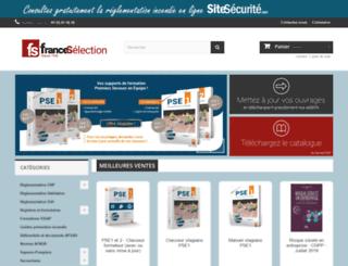 fransel.com screenshot