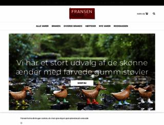 fransenhome.dk screenshot