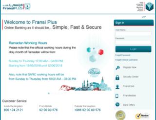 fransiplus.com.sa screenshot