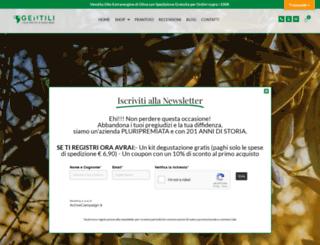 frantoiogentili.it screenshot