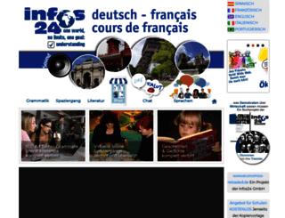 franzoesisch-lehrbuch.de screenshot