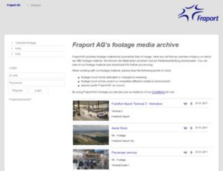fraport.cms-gomex.com screenshot