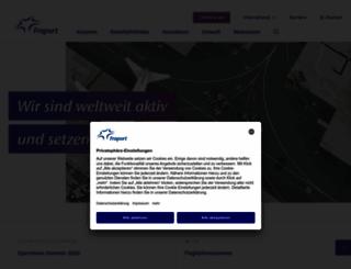 fraport.de screenshot