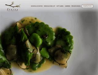 frascafoodandwine.com screenshot