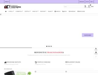 frascognashop.it screenshot