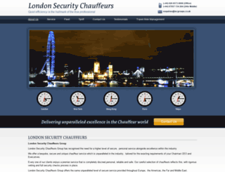 fraserchauffeurs.co.uk screenshot