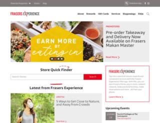 frasersrewards.com screenshot
