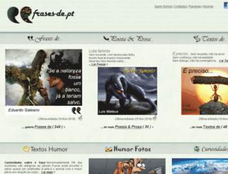 frases-de.pt screenshot